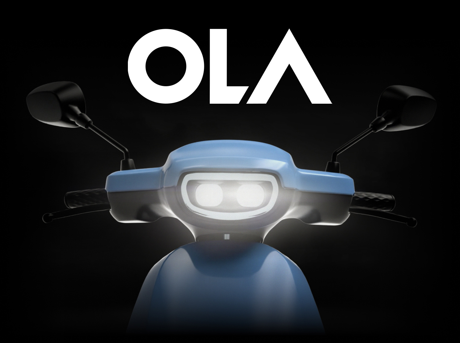 Ola Electric S1 e-scooter in Blue