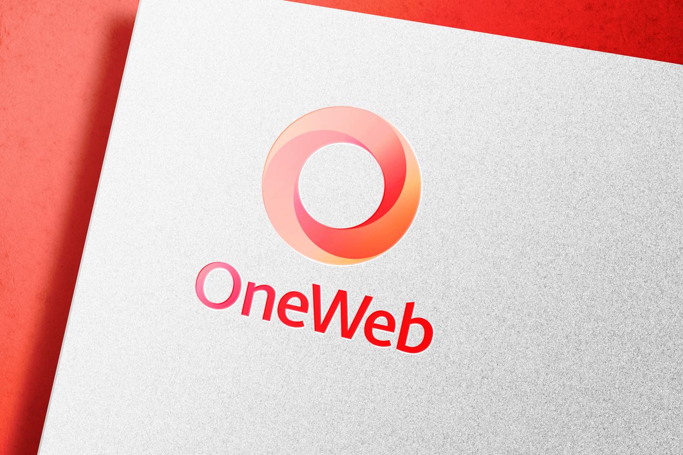 OneWeb Logo Mockup