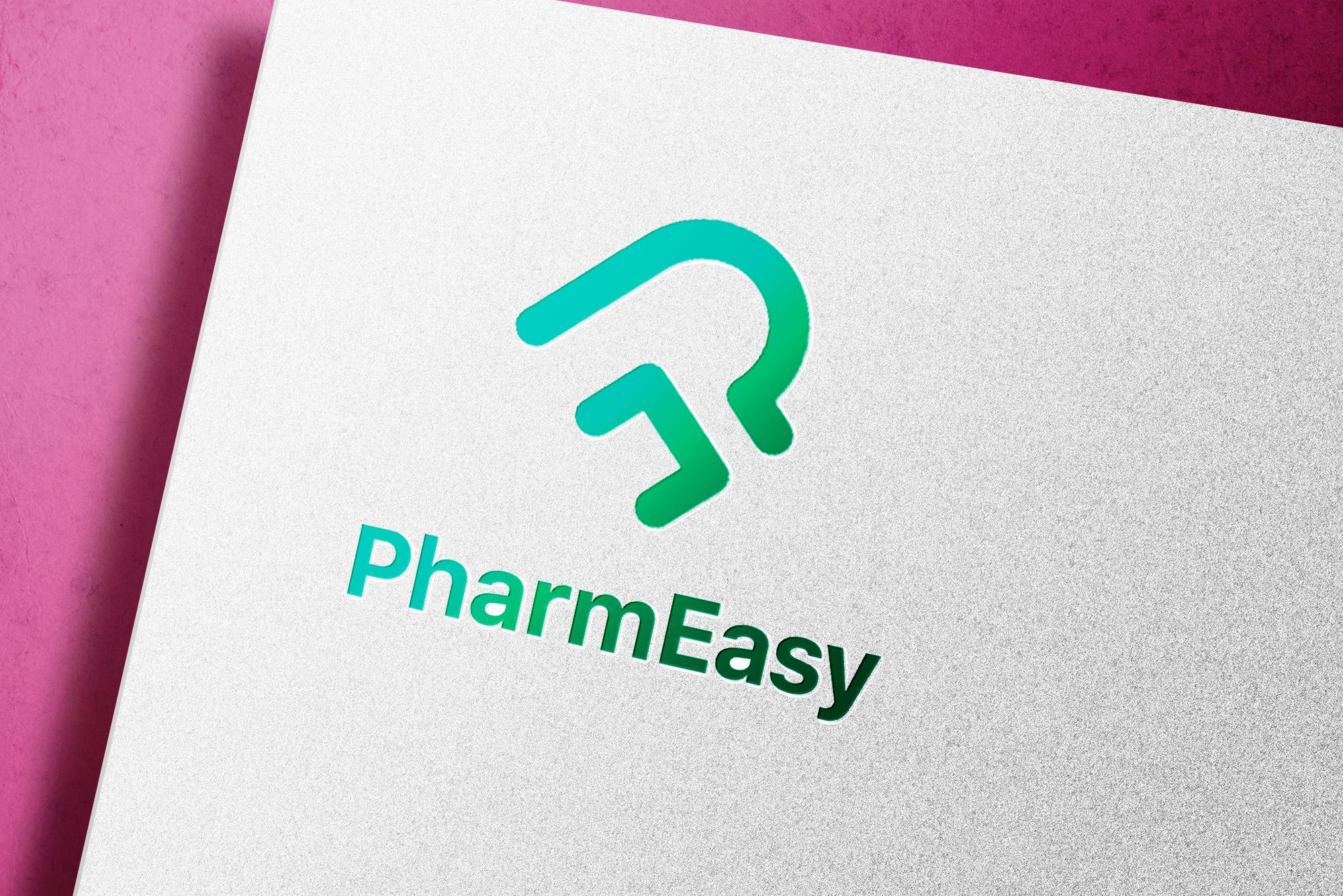 PharmEasy Logo Mockup
