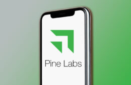 Pine Labs displayed on iPhone 11