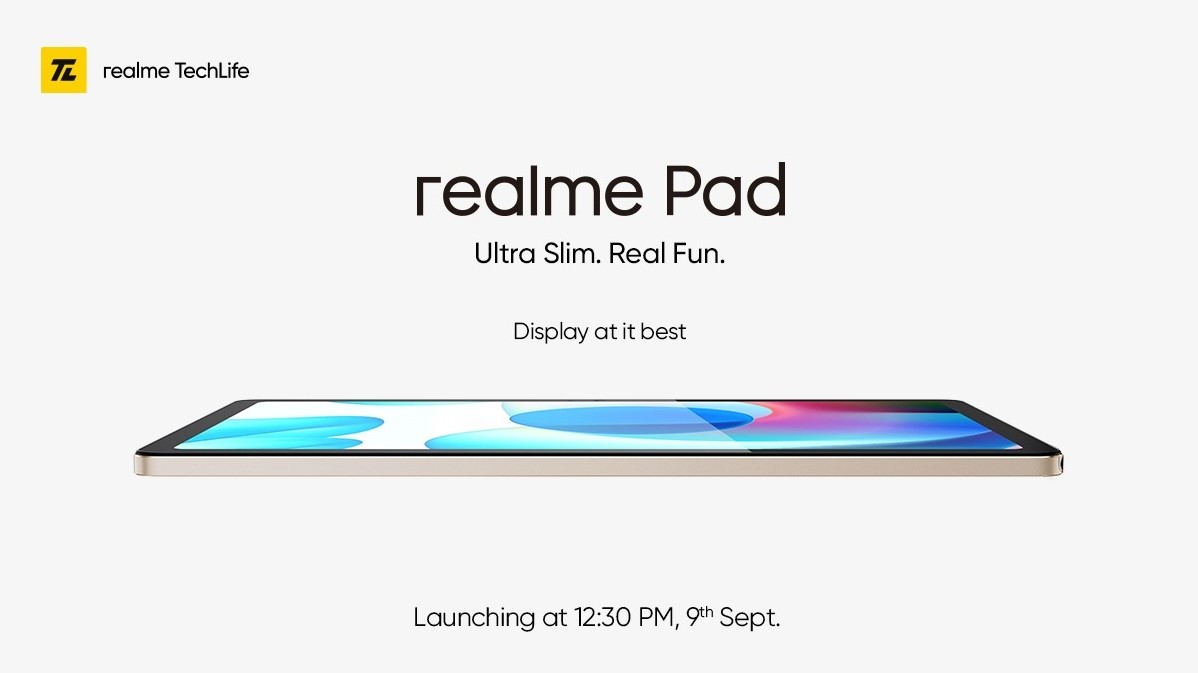 Realme Pad official images