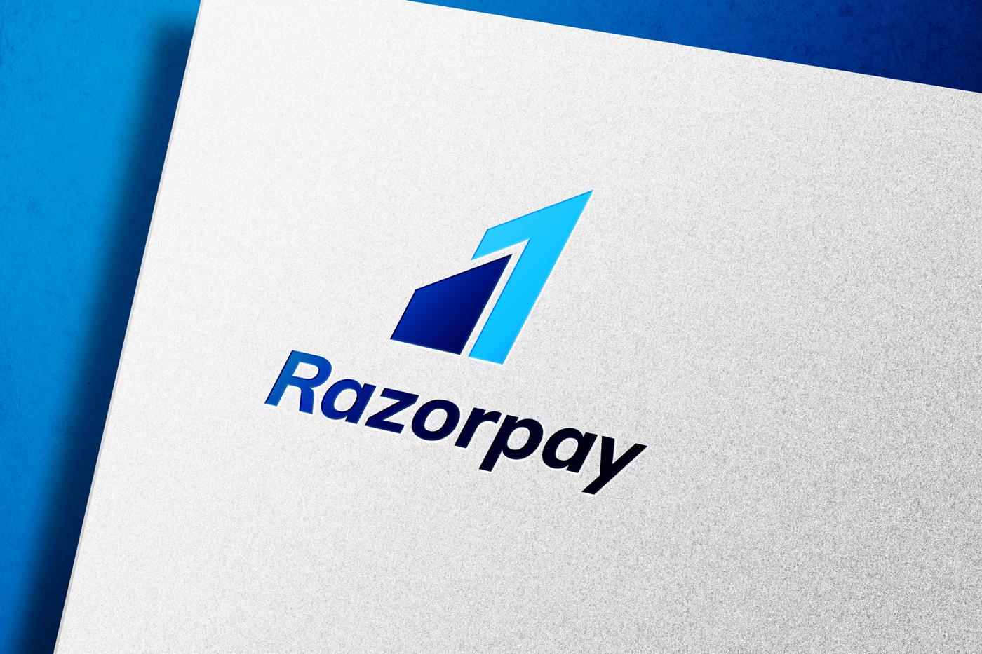 Razorpay Logo on white paper