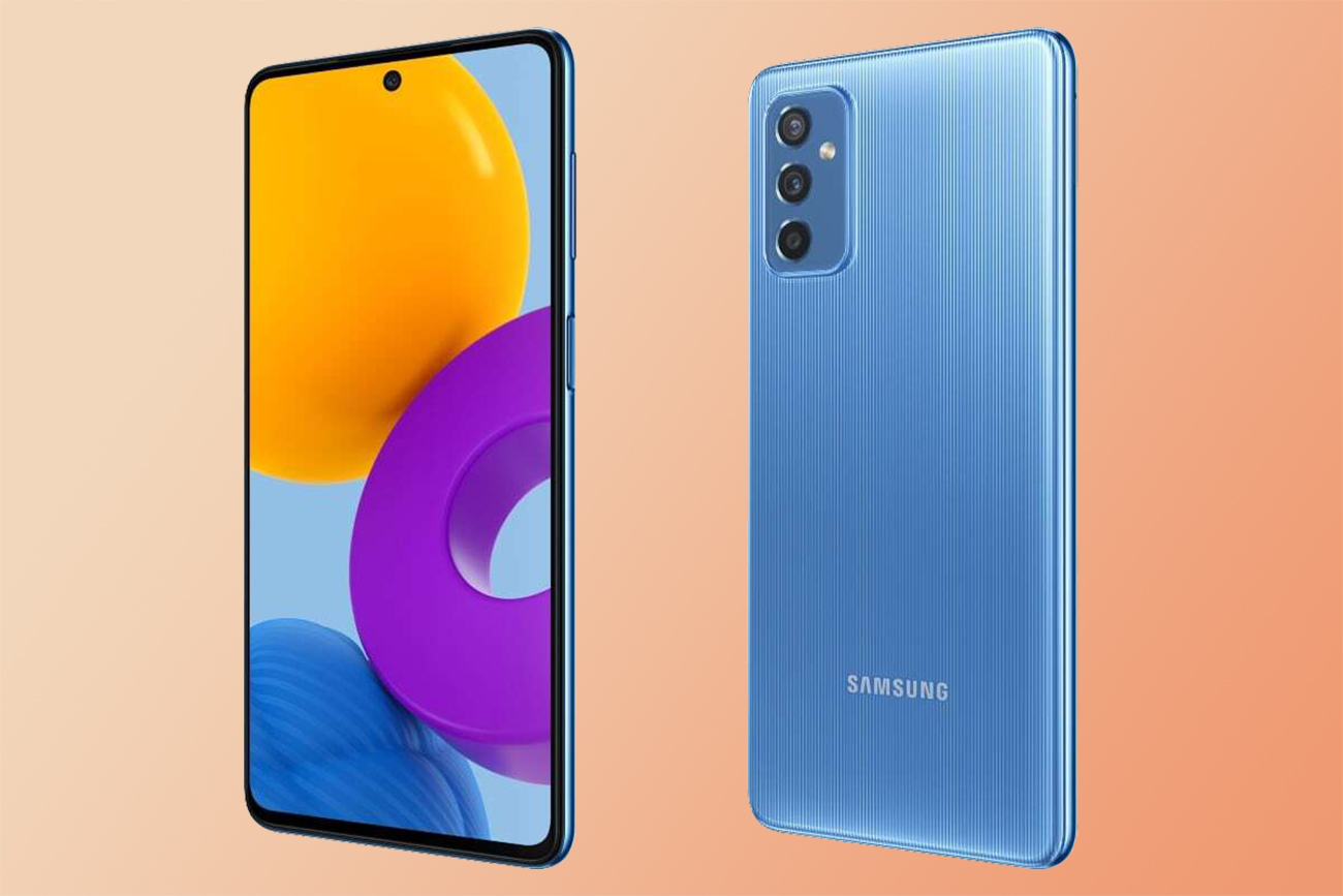 official image of Samsung Galaxy M52 5G