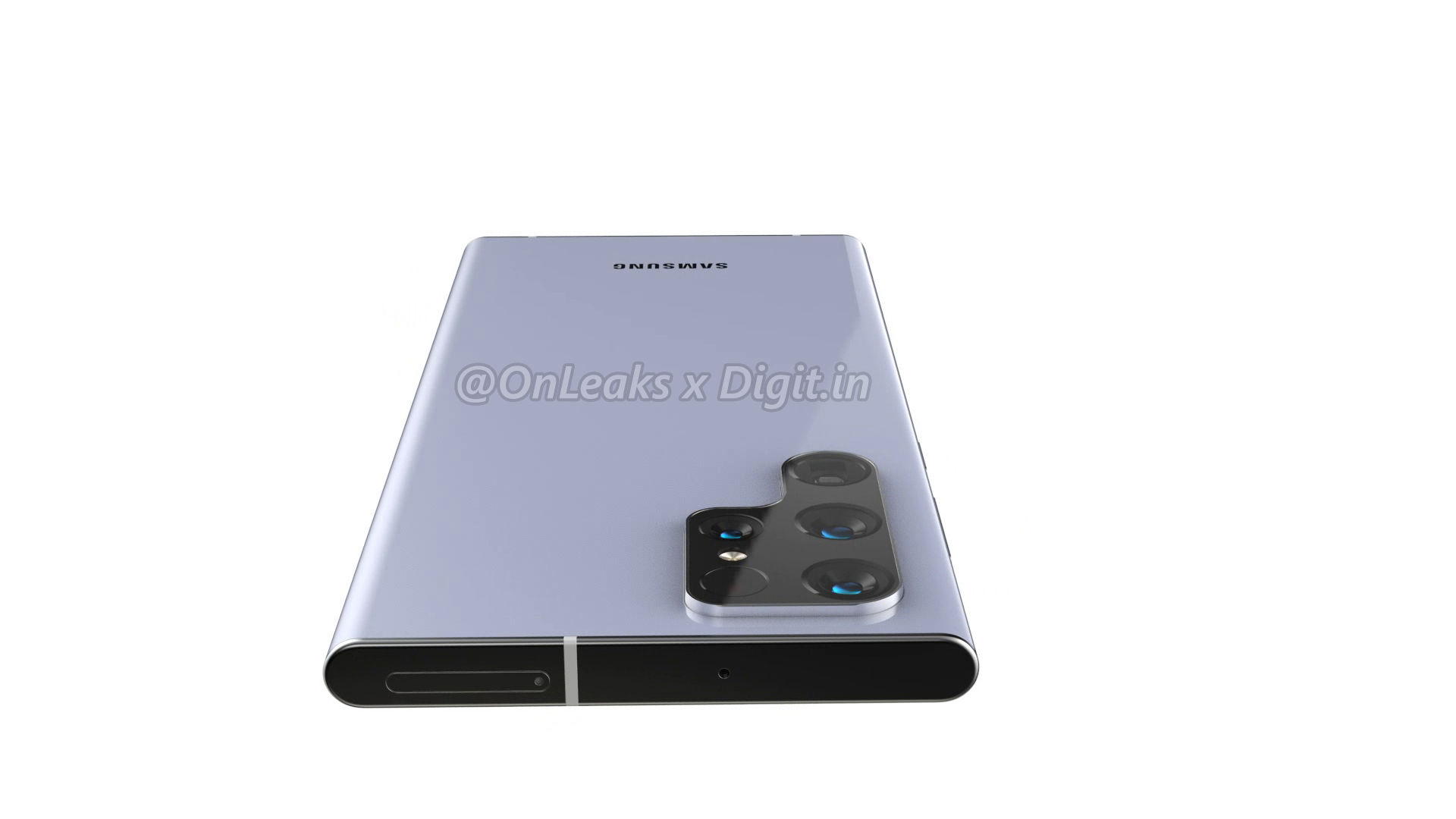 render images of Samsung Galaxy S22 Ultra