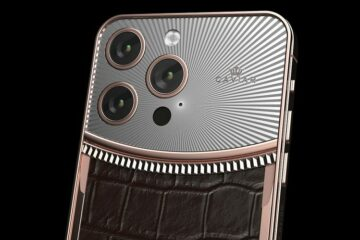 Caviar reveals Rolex inspired Apple iPhone 13 Pro Max