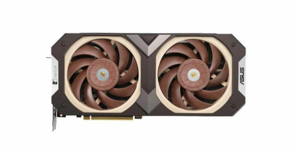 Noctua-embedded with RTX 3070 appeared on Asus' Facebook page