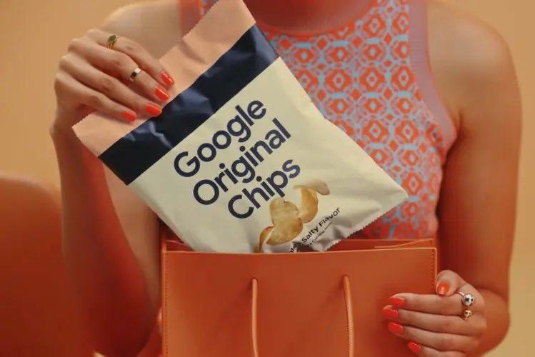 Google reveals Original Potato Chips in Japan for promoting its custom Tensor CPU