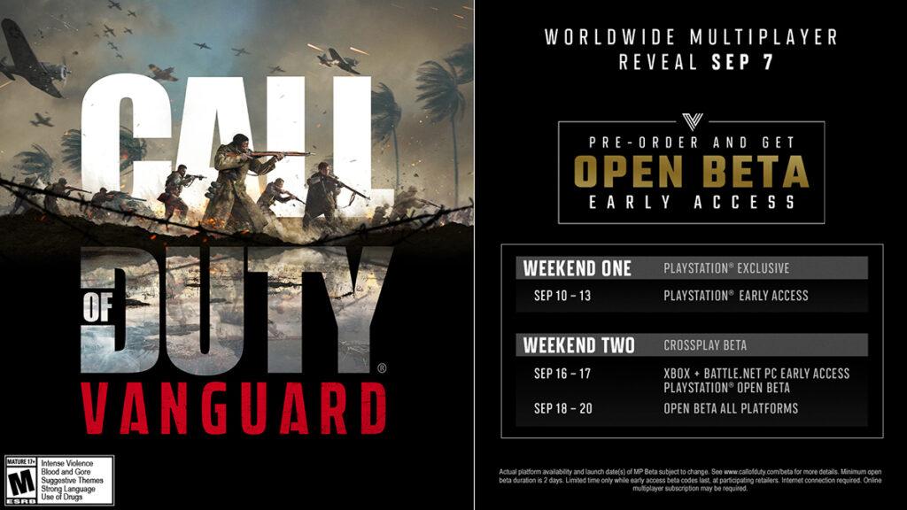 Call Of Duty: Vanguard Open Beta