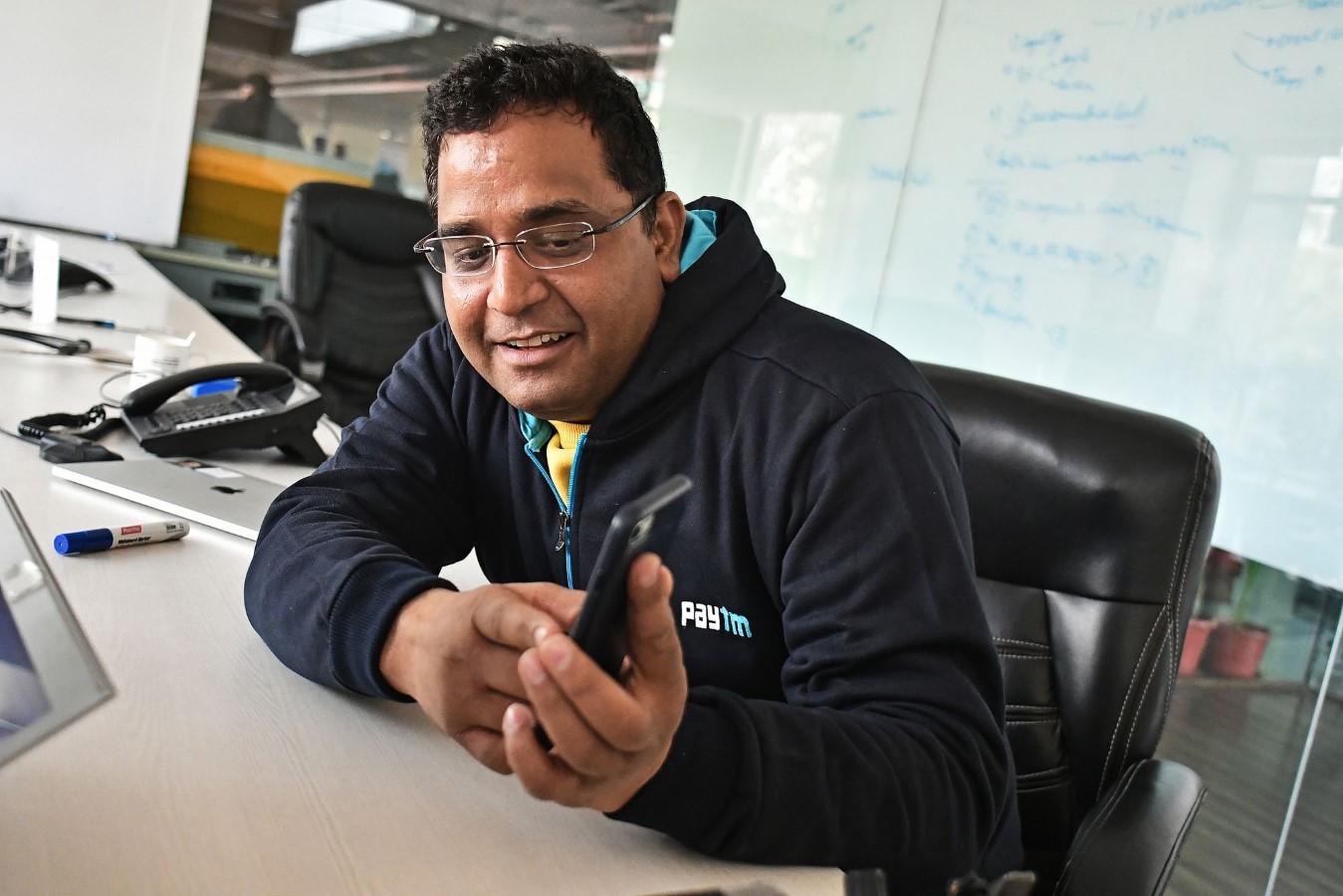 Vijay Shekhar Sharma, founder and chairman of One97 Communications Ltd., CEO of PayTM