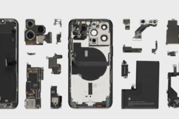 Teardown for Apple iPhone 13 Pro reveals 3095mAh battery & Qualcomm X60 5G modem