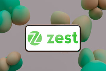 ZestMoney Logo Mockup