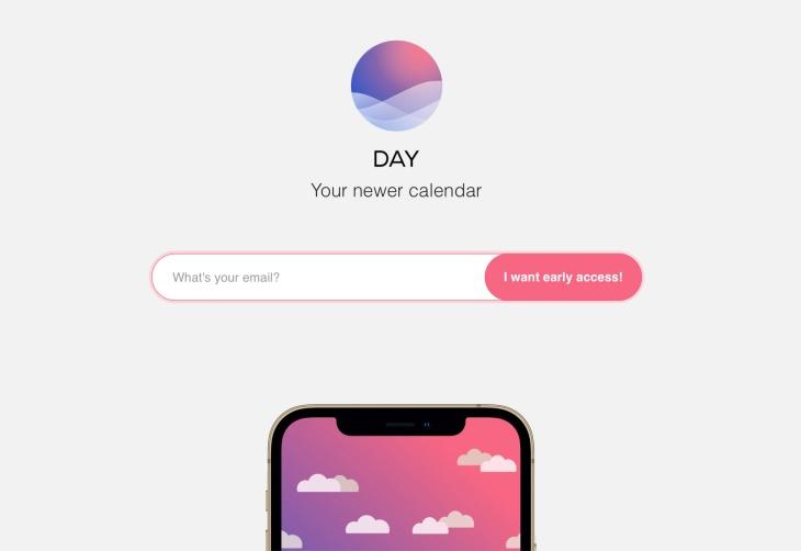 Yahoo Day Calendar App
