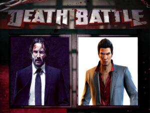 John Wick vs Kazuma Kiryu