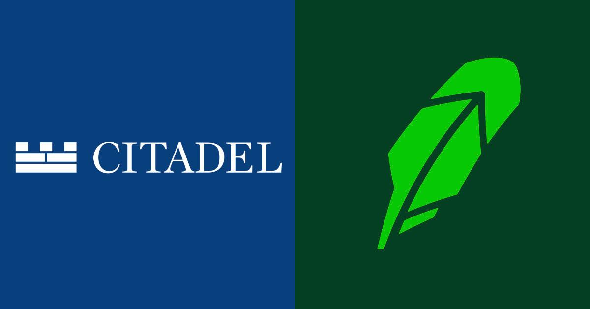 Citadel Securities and Robinhood