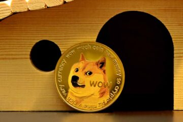 Dogecoin's price is declining towards $0.20