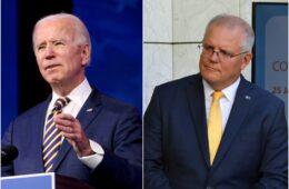Joe Biden, Scott Morrison