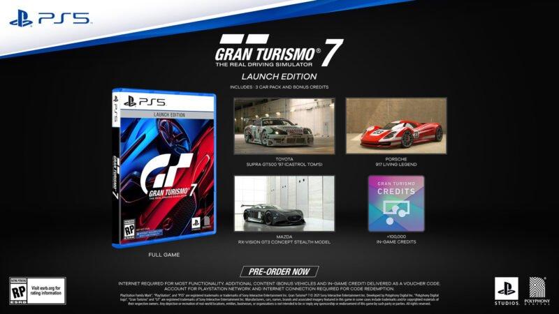 Gran Turismo 7: Pre-Order Details