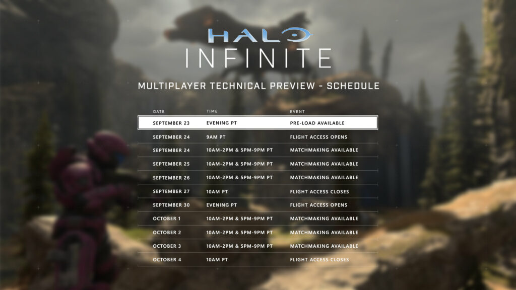 Halo Infinite Multiplayer Technical Preview
