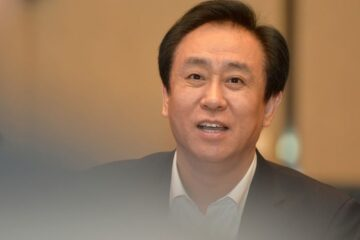 China Evergrande's CEO employees leaders