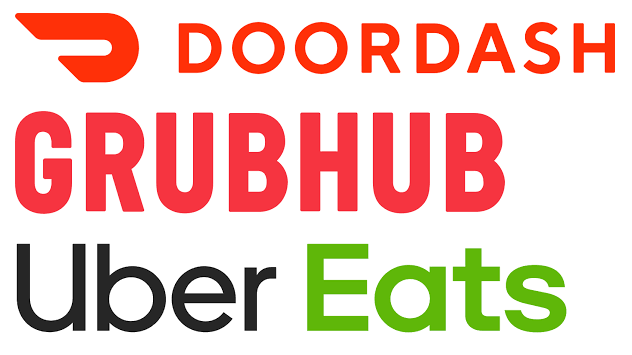 Uber DoorDash Grubhub