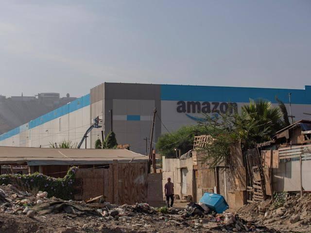 Amazon $21 million Tijuana