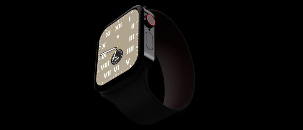 Leaked render of Apple Watch Series 7