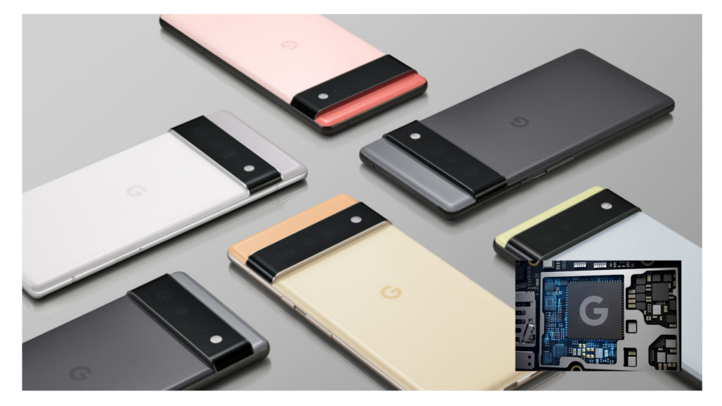 Google Tensor processor leaked specifications and features