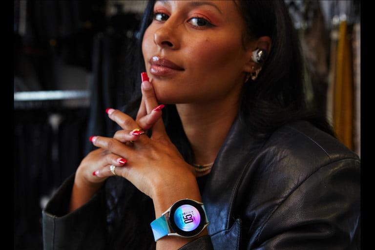Sami Miró and the Galaxy Watch 4.