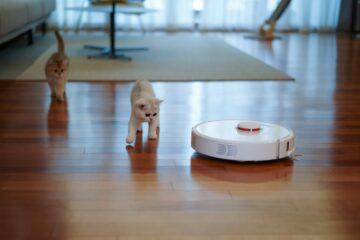 A new update to the robot vacuum helps it avoid pet poop. YoonJae Baik / Unsplash
