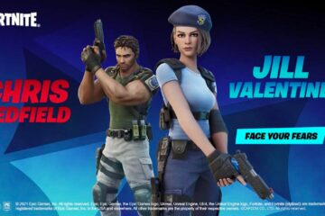 Chris Redfield And Jill Valentine Join Fortnite