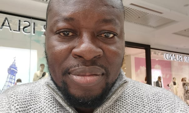 Abiodun Ogunyemi, an Uber Eats courier in Manchester, was locked out of the system after it failed to recognise his face on several occasions. (Image Credit : TheGuardian )