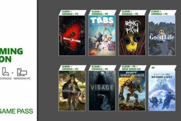 Xbox Game Pass October 2021 lineup