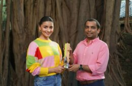 AliaBhatt Along with Phool Founder AnkitAgarwal