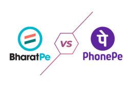 PhonePe and BharatPe Logo