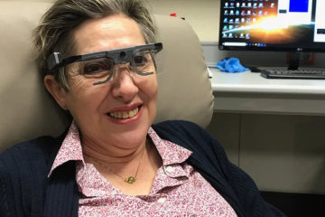 Brain implant was used by scientists to enable a blind teacher see letters again