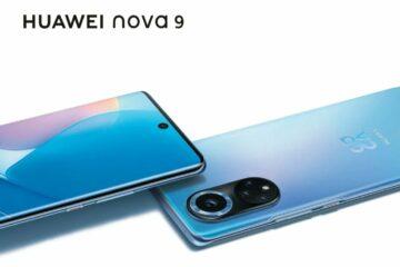 Huawei Nova 9 smartphone featuring 120Hz Display, Snapdragon 778G SoC Announced