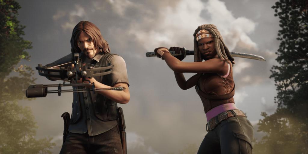 Fortnite x The Walking Dead