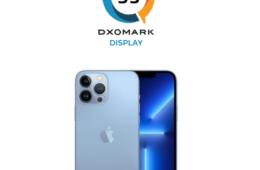 """Apple iPhone 13 Pro Max hosts as """"display leader"""" on DxOMark"""
