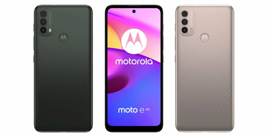 Motorola E30 specifications and design leaked