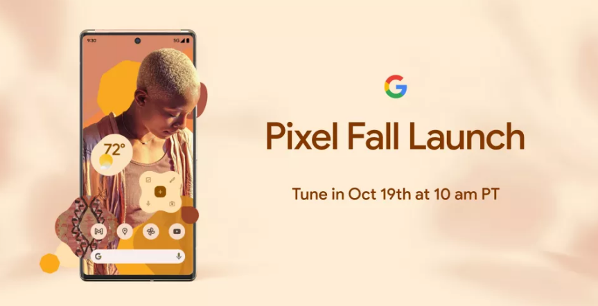 Google Pixel Event to held on 19th October