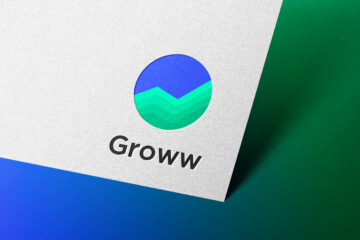 Groww Logo Mockup