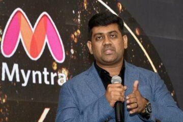 Myntra CEO Amar Nagaram