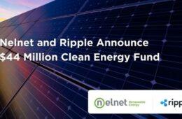 Nelnet and Ripple Announce $44 Million Clean Energy Fund