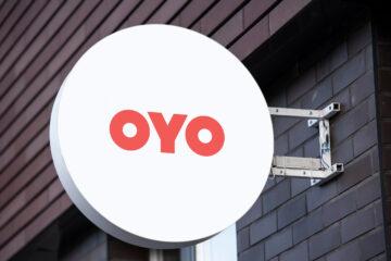 OYO logo mockup