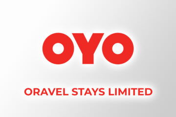 Oyo logo with Oravel Stays Limited text on bottom