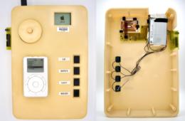 Prior launch Apple iPod prototype leaked showing oversized plastic enclosure
