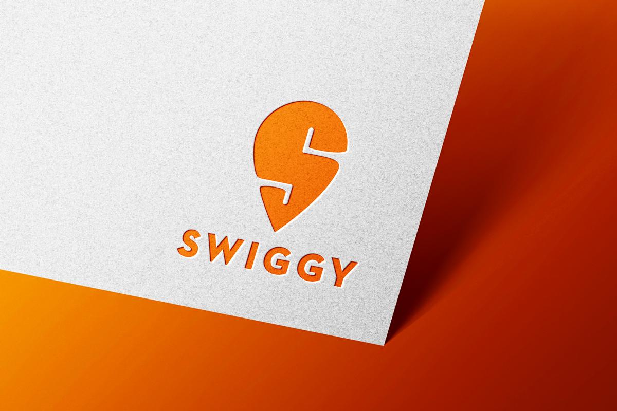 Swiggy Logo Mockup