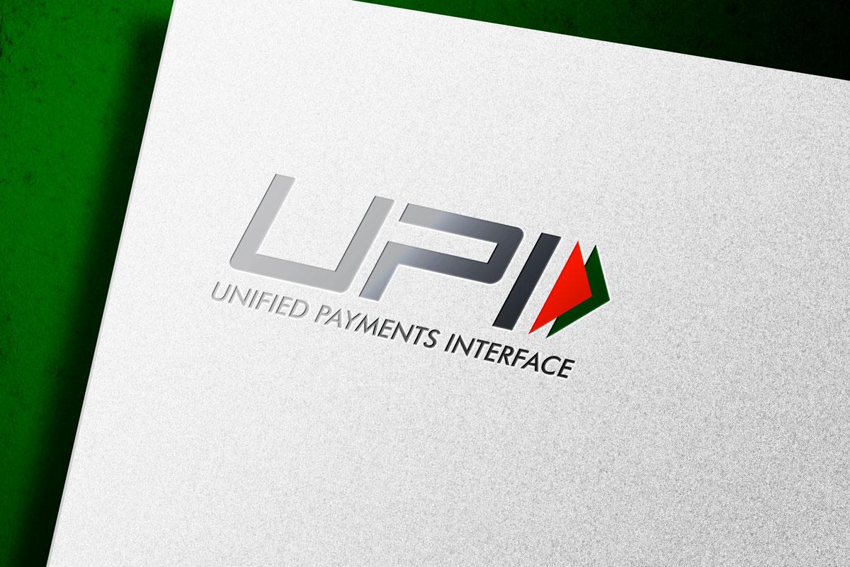 UPI Logo Mockup