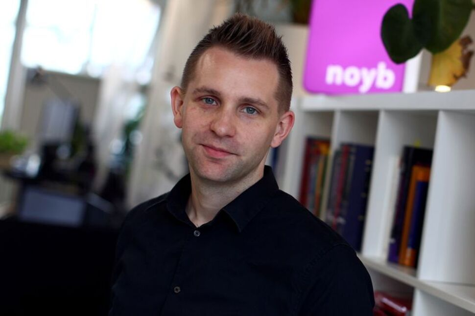 Austrian lawyer and privacy activist Max Schrems poses after a Reuters interview in Vienna, Austria, July 16, 2020.