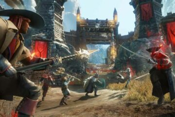 Scenes from Amazon's New World video game. Source: New World